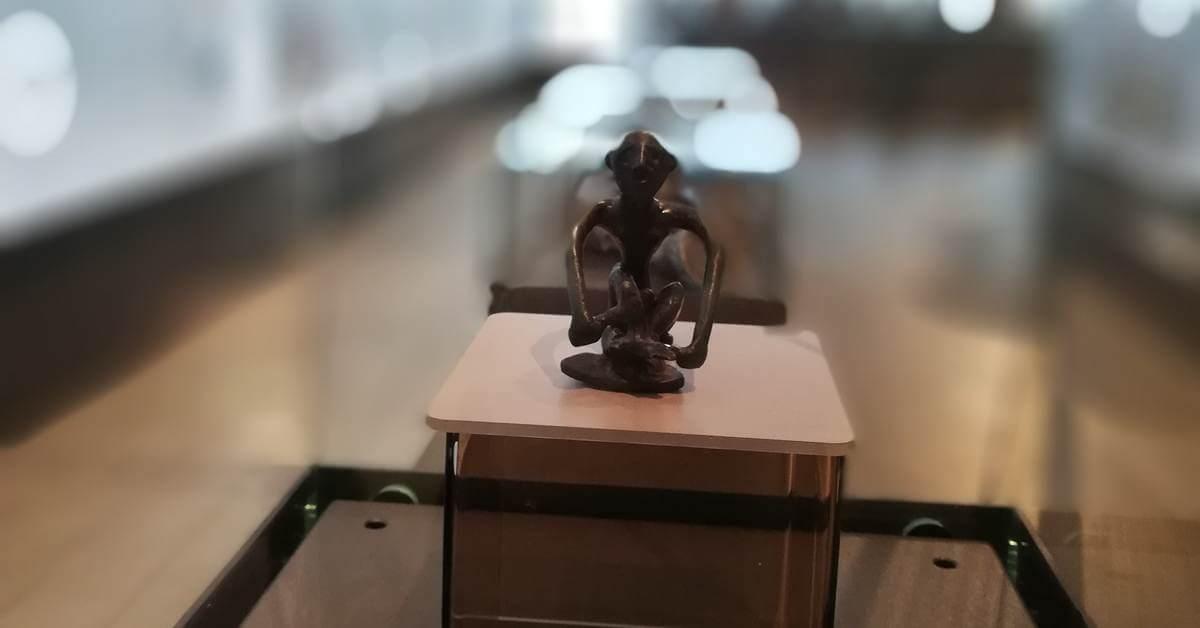 Arheološki eksponat u Narodno muzeju u Beogradu.