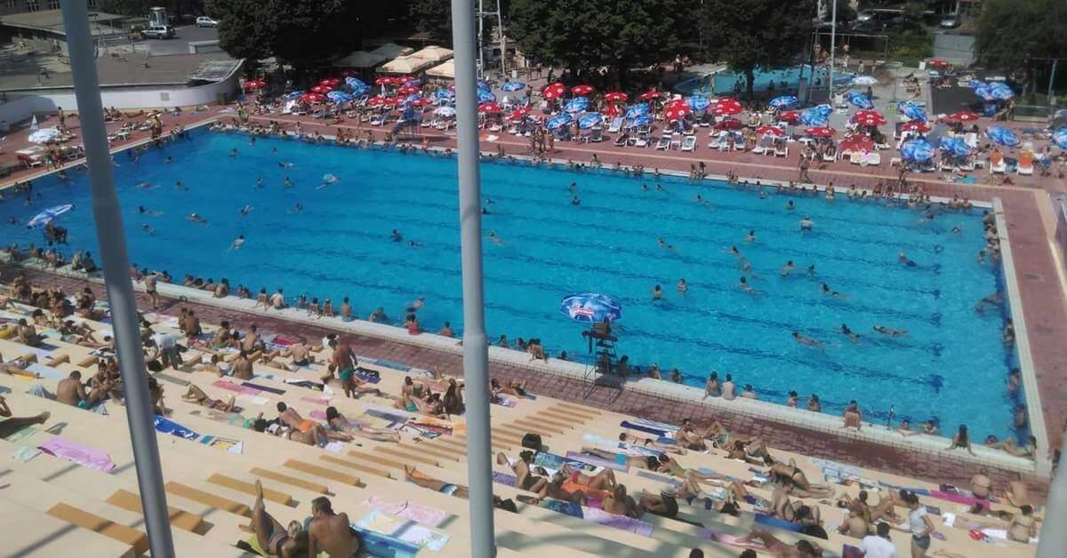 Tašmajdan bazen u Beogradu