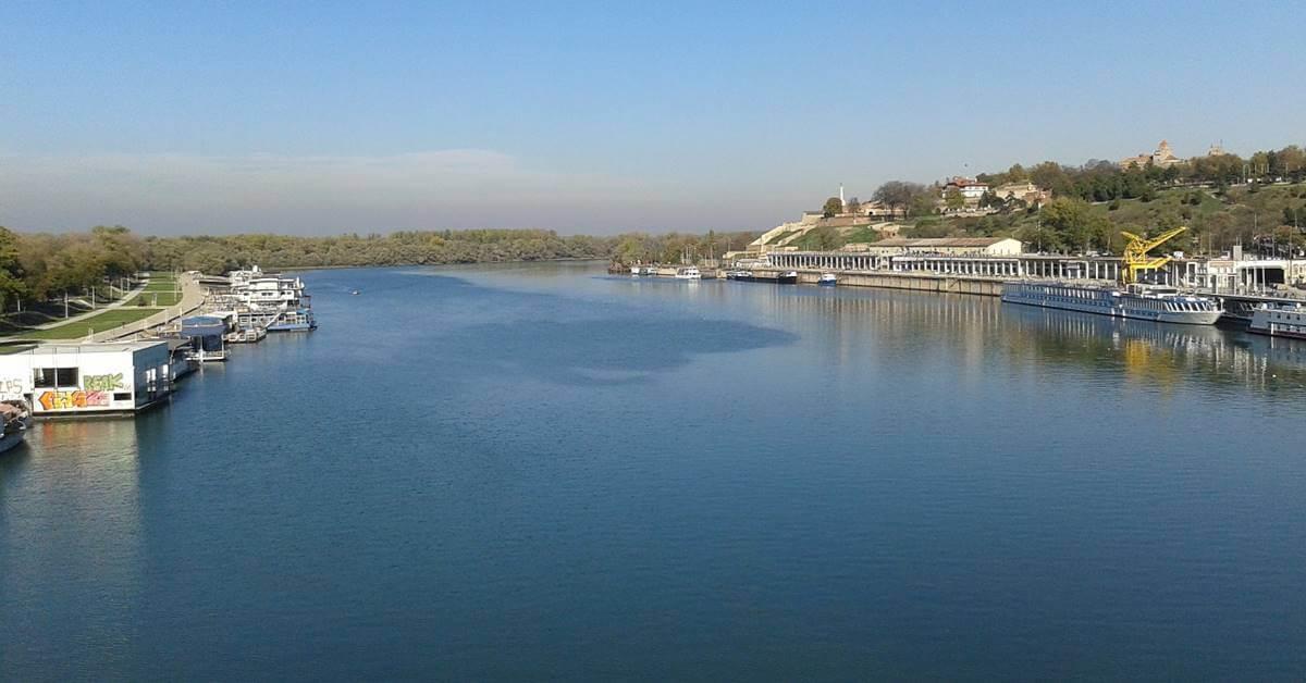 Pogled na Beograd sa Save
