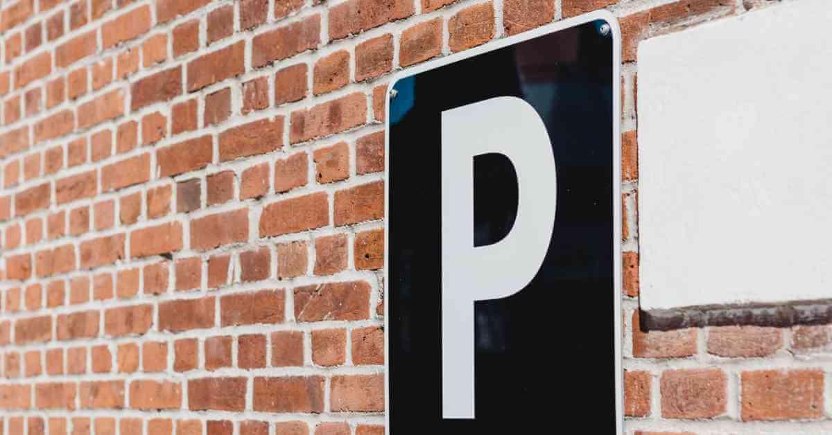 parking aerodrom znak