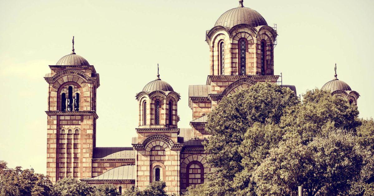 crkva u parku tasmajdan