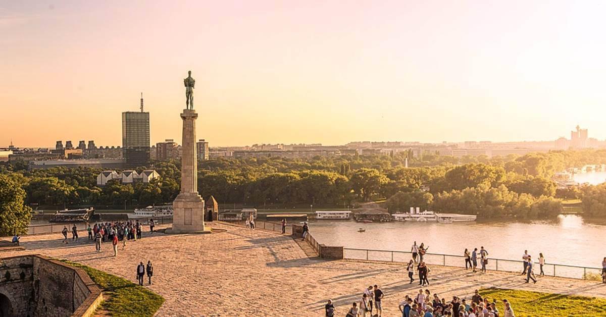 Kalemegdan u Beogradu
