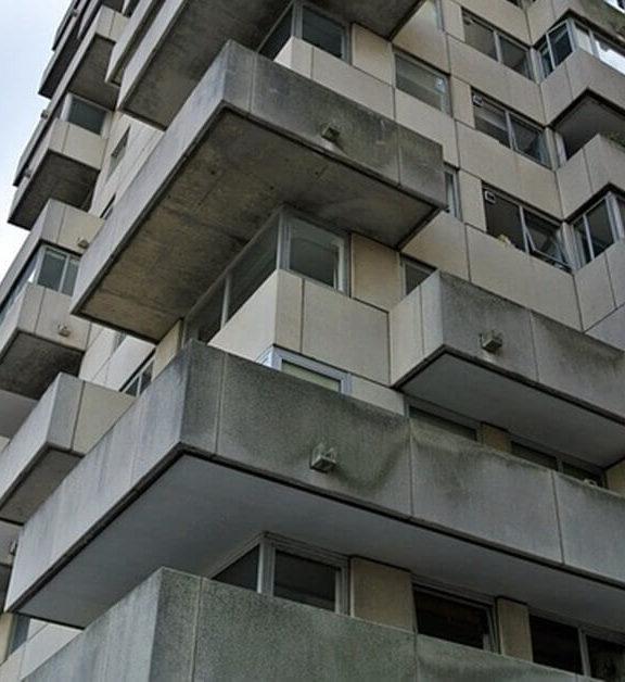 Arhitektura brutalizma u Beogradu