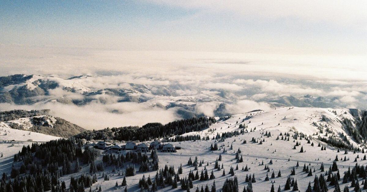 Fotografija Kopaonika iz vazduha