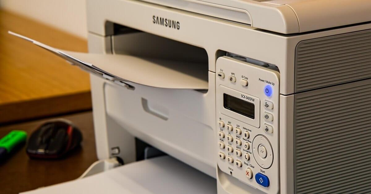 Veliki beli profesionalni štampač