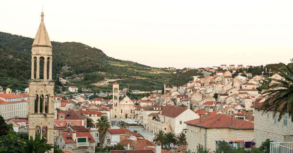 prikaz arhitekture starog grada u Hrvatskoj