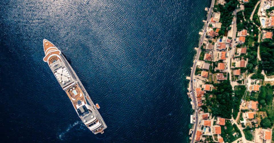 luka Porto Montenegro iz pričije perspektive